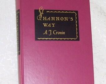 Shannon's Way by A. J. Cronin 1948