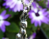 Sterling Silver Small Bunny Rabbit Necklace