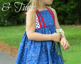 Firecracker Dress and Tunic Sizes 3 month to 12 years