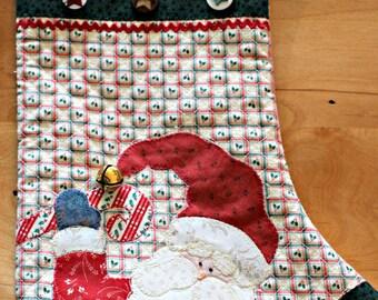 Christmas Stocking Pattern ~ Santa Stockings ~ PDF Pattern