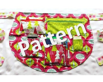 Pattern - Reversible Utility Apron - Costumizable