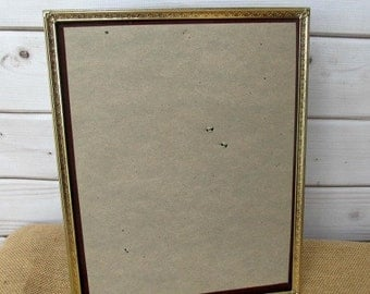 Gold Metal Frames Ornate Vintage Antique, Baby Nursery, Wedding Frames 10x13
