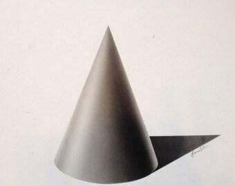 Graphite Cone Rendering