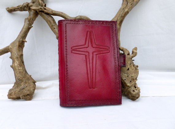 Bible Cover with New style cross design (Custom made for your Bible)