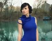 "Short Royal Blue Dress ""B No 15"", ROHMY Black Label /// Nocturne Collection"