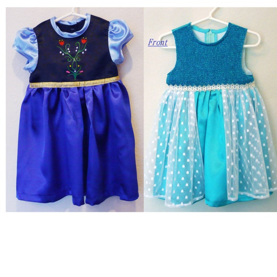 Items Similar To Baby Costume Frozen Elsa And Anna  sc 1 st  Meningrey & Baby Anna Costume - Meningrey