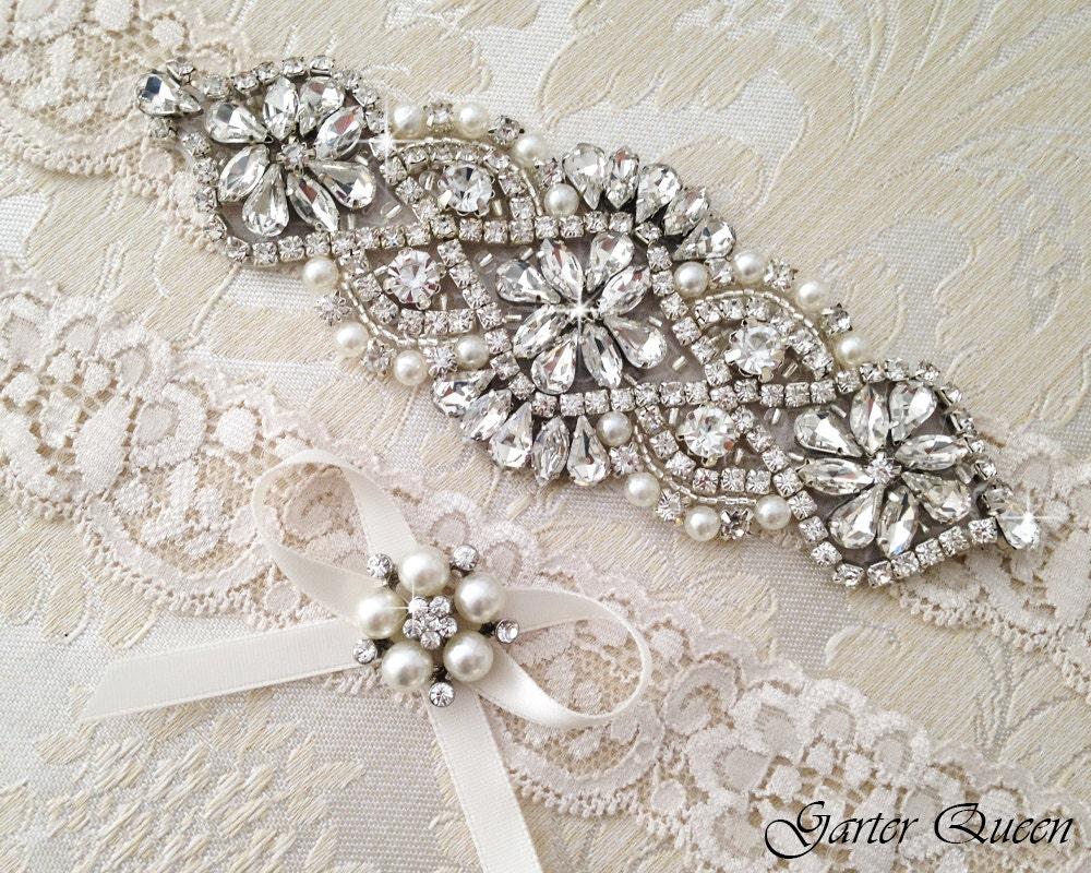 lace wedding garter sets