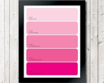 Hot Paint Colors Unique With Hot Pink Paint Color Names Photo