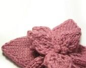 Knitting Pattern Flower Accessory. Knit Flower Pattern pdf. Flowers Knitting Pattern, instant download.