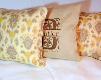 Ikat Pillow Covers - Accent pillows - set of 2 Pillow covers - Designer fabric - pillow covers - couch pillows - throw pillows