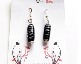 Black Filigrana Earrings