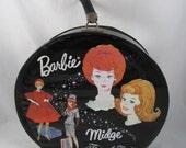 Travel Pals Vintage 1963 Bubble Cut Barbie Midge Doll  Case Vinyl VFC Mattel