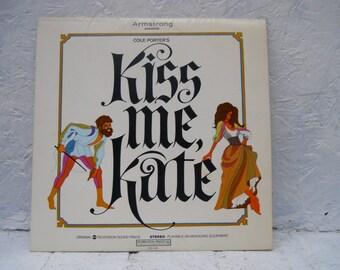 Cole Porter Kiss Me Kate LP Vinyl Record ALBUM. A Cole Porter Limited Edition