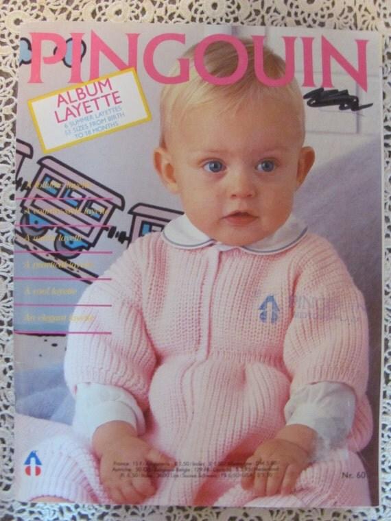 Free Knitting Pattern Cowl : Pingouin Album Layette Number 60 Baby by OnceUponAnHeirloom
