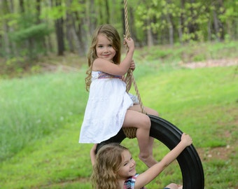 Handmade Tire swing