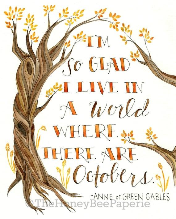 Fall Art Printable/ Autumn Printable/ Autumn Decor/ Instant Download