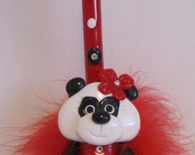 BFF Gift - Sweet 16 Gift- Present for Girl - Cute Panda Bear - Daughter Granddaughter Gift - Teenage Girl Gift - Fun Pen Gifts under 20