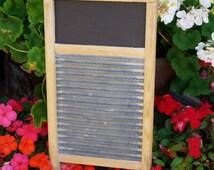 Wash Board Chalk Board