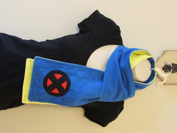 SALE Mutant Blue Team Flannel Scarf