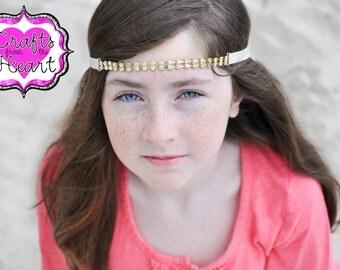 Rhinestone Headband - Gold Rhinestone Headband - Gold Headband - Bridal Headband - Rhinestone Gold Headband - Headbands - Womens Headbands