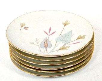 Eschenbach Bavaria Plates with Mid-Century Modern Design