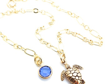 Sea Turtle Anklet, Gold Anklets for Women, Honu Jewelry, Chain Anklet, Gold Ankle Bracelet, Beach Anklet Gold, Beach Jewelry, Beachy, A0058