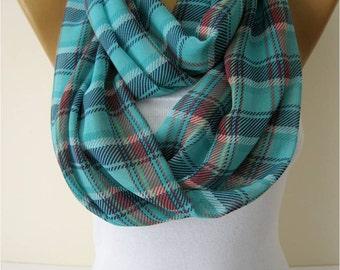 SALE ! 9,90 USD-Infinity Scarf Shawl Circle Scarf Loop Scarf ,Gift scarf
