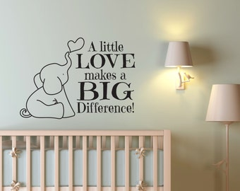 Nursery Wall Decals Etsy - Nursery wall decals baby boy