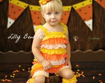 Candy Corn Leg Warmers-Baby Leg Warmers-Halloween Leggings-Baby Girl Clothes-Halloween Costume-Birthday Cake Smash-Newborn-Infant-Child