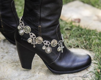 Bullet Casing Jewelry - Chic Boot Bullet Bracelet (9mm and 45 Auto)