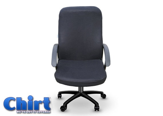 Black Chirt Office Chair Cover