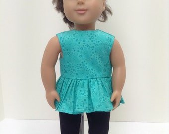 "Bright Turquoise Summer Set   - Fits 18"" American Girl Doll and all other 18"" Dolls"
