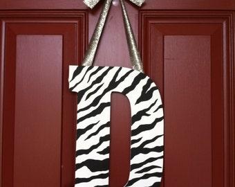 Zebra Print Initial Door Hanger Zebra Door Sign Girls Zebra Print Door Sign  sc 1 st  Etsy & Zebra door decor | Etsy pezcame.com