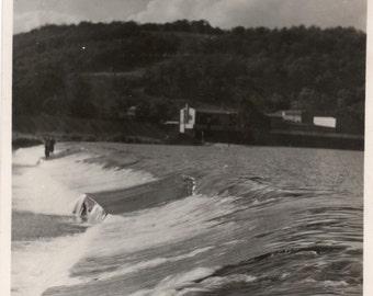 Vintage Photo ~  Flash Flood Vintage snapshot