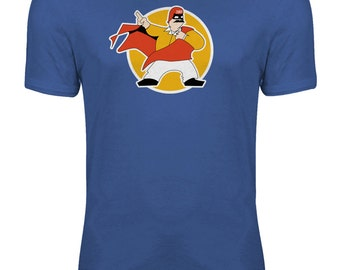 The Cannonball Run - Dom DeLuise Captain Chaos Womens T-shirt