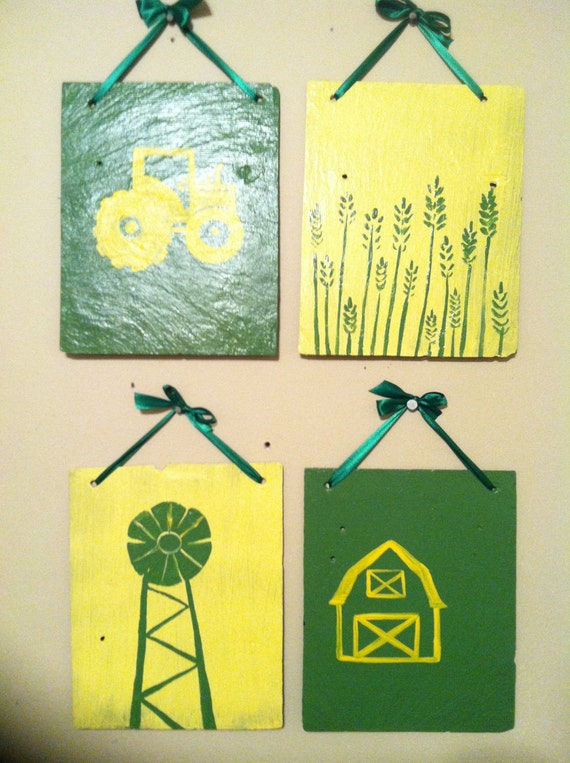John Deere Nursery Decor Nursery Wall Art Painted Sign By
