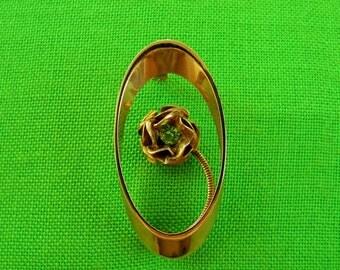 Vintage Gold-tone Brooch (Item 1120)