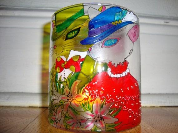 Catsafari fanart studio ghibli whisper of the heart the for Pebeo vitrail glass paint instructions