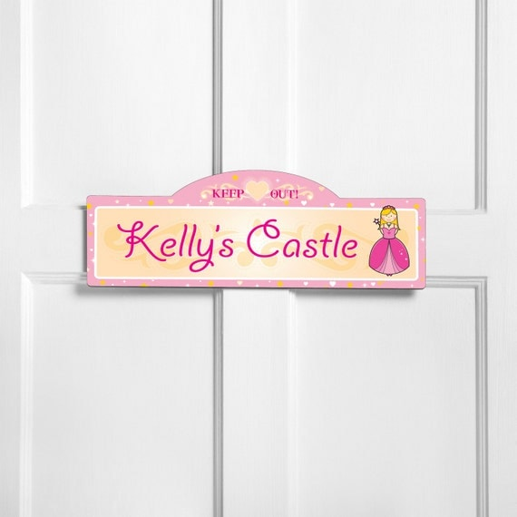 girls room sign kids room sign personalized kids room sign