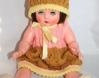 Very Pretty Vintage Sleepy Eye Doll  - Soft Vinyl Doll