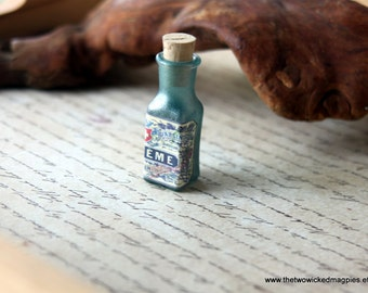 Popular items for victorian medicine on etsy for Halloween medicine bottles