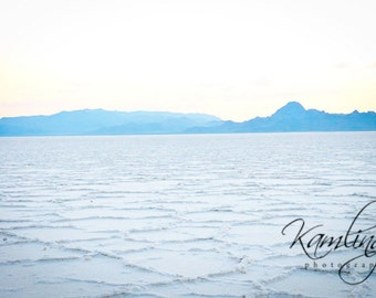 Sunset on the Salt Flats - Digital Photography download