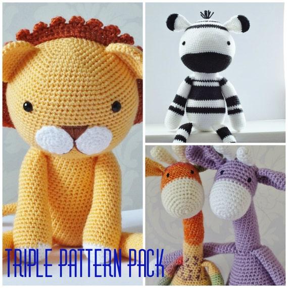 Amigurumi Yarn Pack : Crochet Amigurumi Toy PATTERN Pack Special Offer by ...