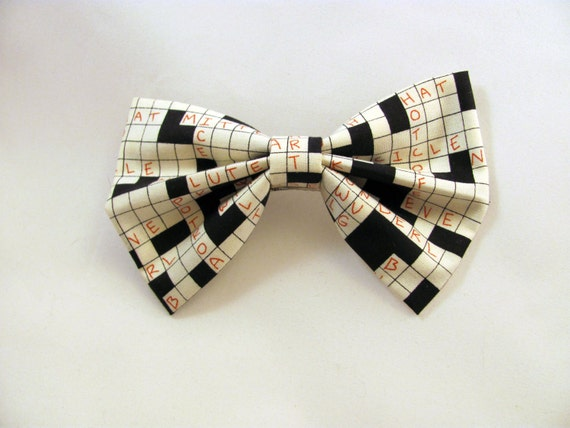 darling crossword hair bow