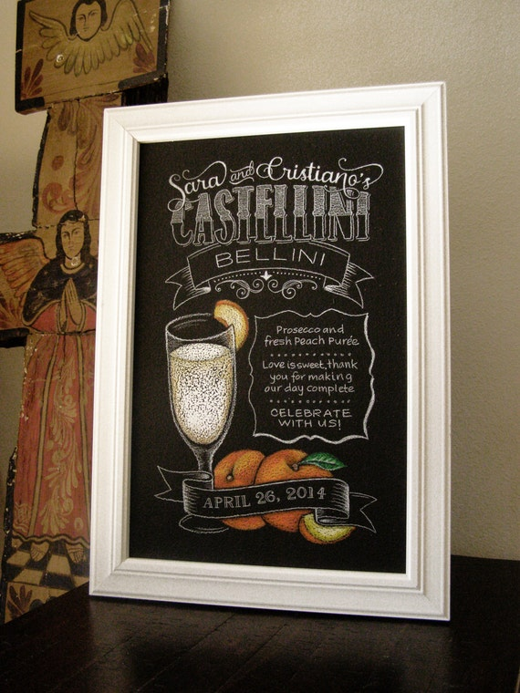 Chalkboard Sign -For the Bar!