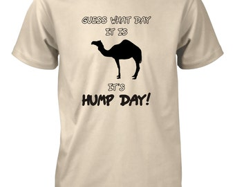 Hump Day Funny T-Shirt Commercial Camel Wednesday