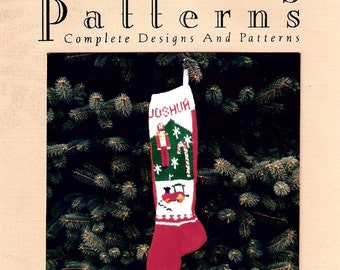 Christmas Stocking Pattern,  Toy Soldier