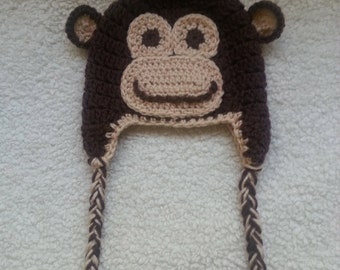 Earflap Monkey Hat
