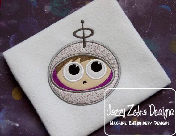 Spaceman appliqué design - Astronaut Applique Design - spaceman appliqué embroidery design - astronaut applique embroidery design