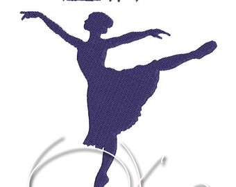MACHINE EMBROIDERY FILE - Ballet